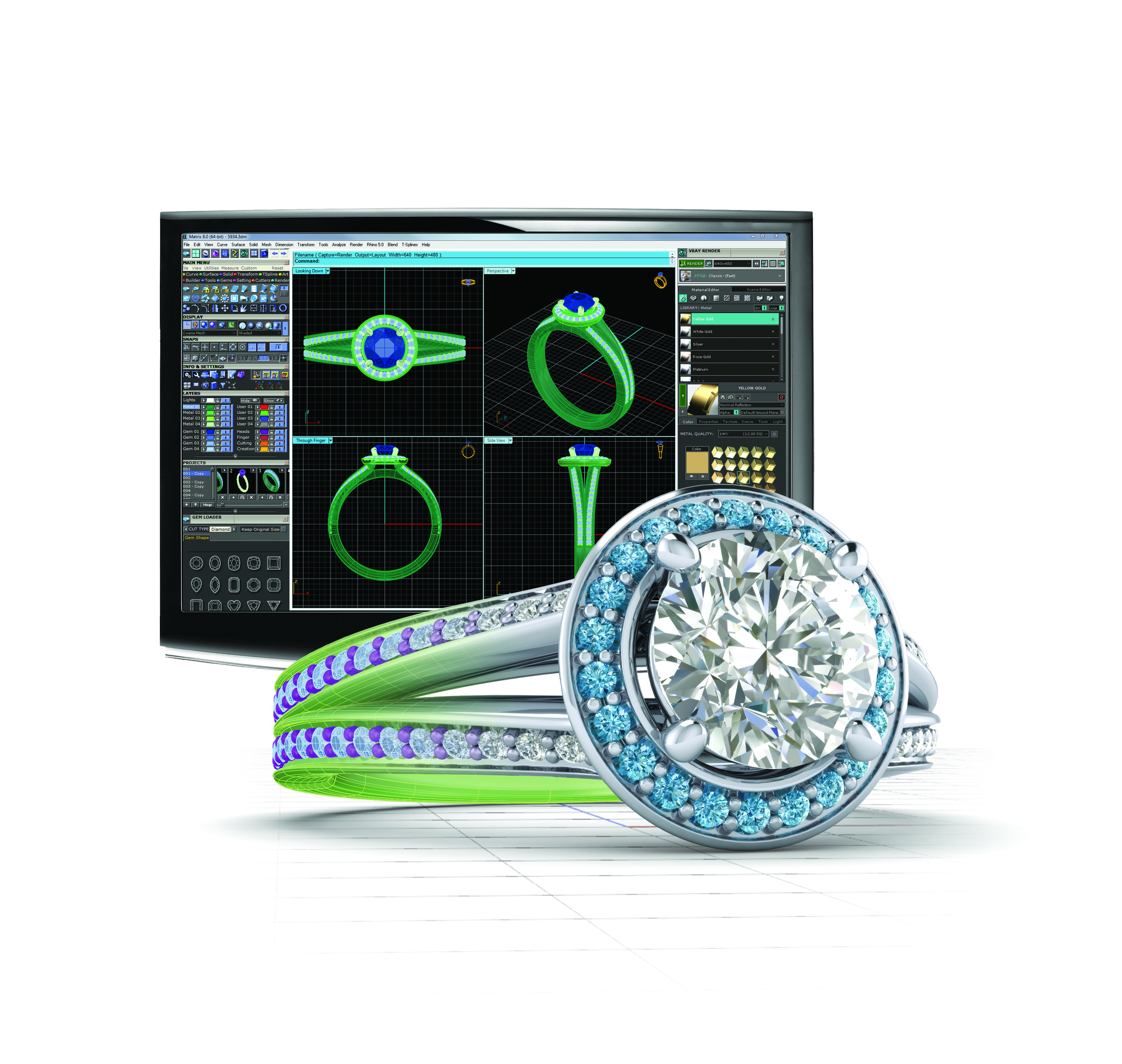 Download Matrix 3d Jewelry Design Software Free Boutiqueskiey